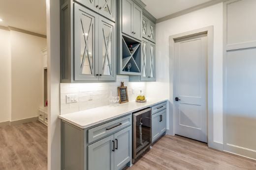 stylish cabinetry and kitchen pantry with carpenters geelong